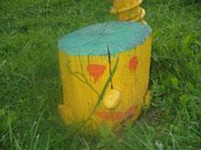Пенечки-человечки для детской площадки
