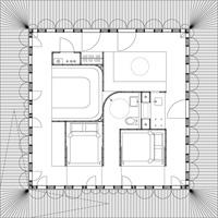 Оригинальный дизайн - Дом по кругу. Планировка