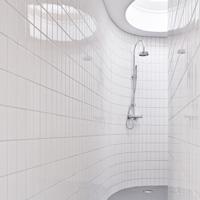 Оригинальный дизайн - Дом по кругу. Ванная комната